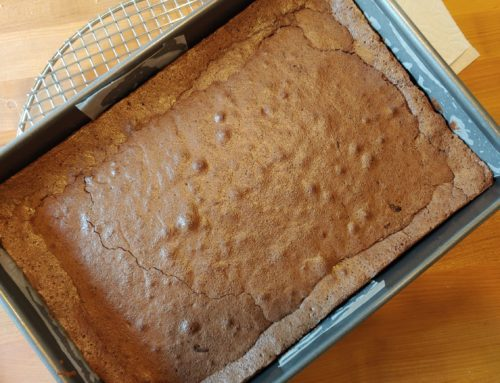 Buckwheat and Cardamom Brownies